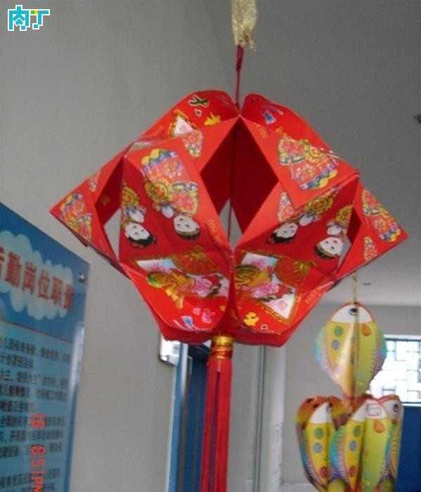 儿童手工制作灯笼 幼儿园亲子环保手工灯笼作品大全