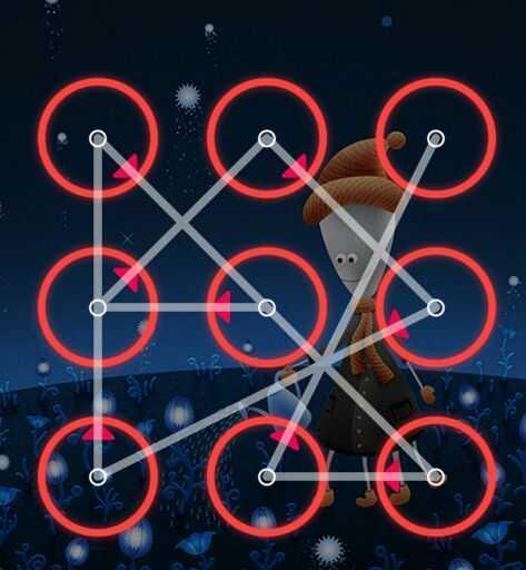 qq九宫格密码解锁图案 漂亮的手机九宫格解锁图案大全