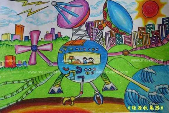 一年级的简单科学幻想画_科幻画初中生_科幻画彩铅_七年级简单科幻画_高难度科幻画